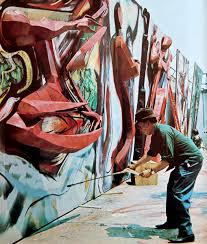 David Alfaro Siqueiros Mural Olvera Street by Siqueiros On Topsy One