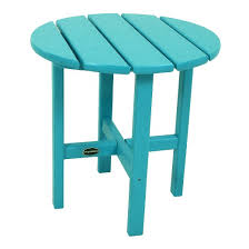 POLYWOODR Round Patio Side Table