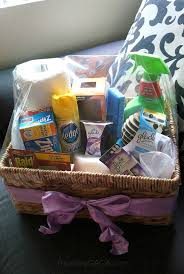Dazzling Diy New Home Gift Ideas Housewarming Essentials Basket