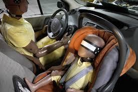 crash test siege auto bebe sécurité routière un siège auto inédit équipé d airbags