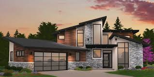 100 A Modern House Empty Nester Plan With Unique And Award Winning Appeal
