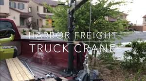 100 Harbor Freight Truck Crane YouTube