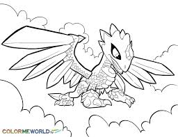 Coloring Pages Skylander Superchargers Printable Swap Force Colouring Free Page Skylanders Giants