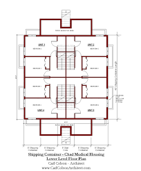 100 Homes From Shipping Containers Floor Plans Container Housing Part 2 Carl Colson Architect