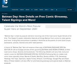 Pinned September 26th: Free #Batman Comic Book Today At Barnes ... Book Collection Update August 2013 Youtube 25 Best Memes About Barnes And Noble Make Mine Marvel Sampler 01 2016 Viewcomic Ultimate Spiderman Edition Brian To Launch Personalized Childrens Books Program Wsj Bn Colonial Orlando Bncolonial Twitter Where Buy The Little Nightmares Comic Indie Obscura Teen Titans 1 Dc Npr Wwwbobbynashcom In Comic Book Shops Today Edgar Rice Day At