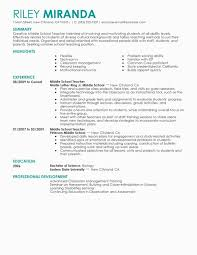 Special Education Teacher Resume Objective Minimalist Sample Easy Od Specialist