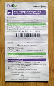 Got a Blank Doortag Notice from FedEx on Your Door Here s Why