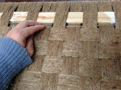 Chair Caning Instructions Youtube by How To Repair A Seagrass Day Bed Youtube Charpoy Charpai
