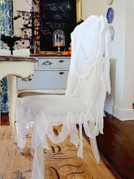 Easy-Sew Ghostly Chair Slipcover | HGTV Formal Ding Room Chair Slipcovers Sew Sweet Fabric Ballad Bouquet By Waverly Long Slipcover 100 Cotton Machine Washable Box Cushion Winsome Wide Recliner Inch Covers Rocker Dropcloth For Leather Parsons Chairs In 2019 4 Ways To Cover Wikihow Astonishing Kitchen Fniture 33 Best Of Fancy Pictures For Shabby Chic Ding Room Fuenteagregarco How Make A Custom Hgtv Folding Design Armchair