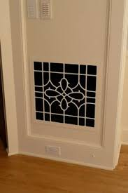 Decorative Return Air Grille 20 X 20 by Laser Cut Air Return Vent No More Ugly Grills Remodel