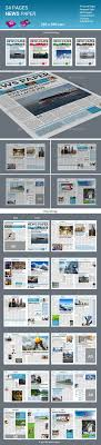 24 Pages Newspaper Grid LayoutsDesign LayoutsNewspaper LayoutNewsletter TemplatesMagazine