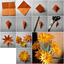 Craft Flower Step By