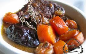cuisiner le boeuf recette ragoût de boeuf carottes et pruneaux à la bière 750g
