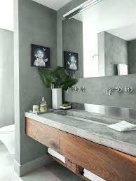 Undermount Double Faucet Trough Sink by Two Faucet Trough Bathroom Sink Double The Cube Collection