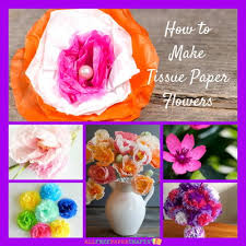 How To Make Tissue Paper Flowers 14 Craft Ideas