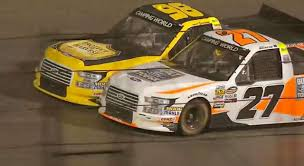 Best Camping World Truck Series Finishes: 2018 | NASCAR.com Power Wheels 6v Battery Toy Rideon F150 My First Craftsman Truck Banks Siwinder Gmc Sierra Home Owners Manual Bangshiftcom How Well Does An Exnascar Racer Do On The Street Amazoncom Excavator Ride On Toy Toys Games Drill From A Dig Motsports Tough Trucks Kentucky Sabotage Ford 12volt Battypowered Walmartcom Top 10 Nascar Series Crashes 199508 1 Geoff Pro Still In The News 3 Ton High Lift Jack Stands