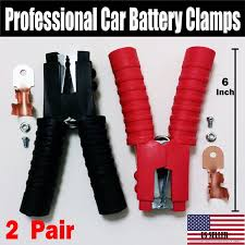 100 Heavy Duty Truck Battery Charger Amazoncom 4 PCS Jumper Starter Booster Cable Car