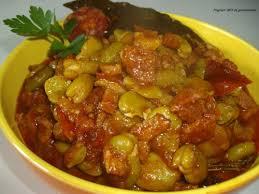 comment cuisiner les f es fraiches mijotée de fêves à la portugaise flagrant délit de gourmandise