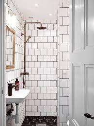 white tile black grout bathroom floor image bathroom 2017