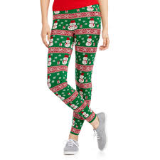 jolly juniors u0027 christmas sweater leggings walmart com