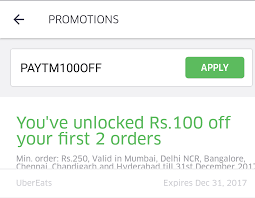 Rs.100 Off On First 2 Orders When You Pay Using Paytm At ... Ubereats Promo Code Use This Special Eatsfcgad 10 Uber Promo Code Malaysia Roberts Hawaii Tours Coupon Uber Eats Codes Offers Coupons 70 Off Nov 1718 Eats How To Order On Eats Apply Schedule Expired Ubereats 16 One Order With Best Ubereats Off Any Free Food From Add Youtube First Time Doordash Betting Codes Australia New For Existing Users December 2018 The Ultimate Guide Are Giving Away Coupons That Expired In January