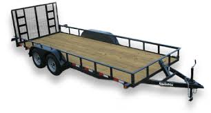 Light Duty Tandem Axle Utility Trailers