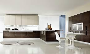 cuisine marron et blanc cuisine marron et blanc cuisine avec de nombreux meubles de