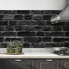 details zu küchenrückwand selbstklebend schwarz fliesenspiegel folie alle untergründe