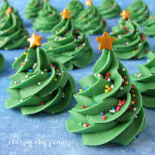 Fudge Christmas Trees Made Using 3 Ingredient Creme De Menthe