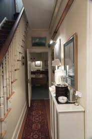 Flag House Inn Entrance Hallway Leading To Dining Room And Stairway Bedroomss