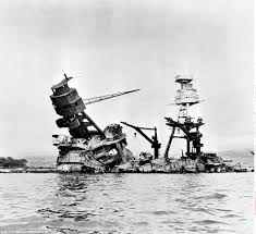 Uss America Sinking Photos by Pbs Film Shows U S S Arizona For The First Time After Attack On