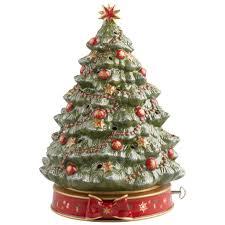 Christmas Tree Farms Albany Ny by Toy U0027s Delight Christmas Tree With Musical Box Villeroy U0026 Boch