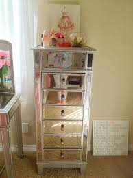 Hayworth Mirrored Dresser Antique White by Hayworth Mirrored Bedroom Furniture Collection