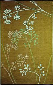 Polypropylene Patio Mat 9 X 12 by Amazon Com B B Begonia Fernando Floral Contemporary Reversible