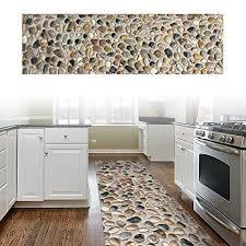ChasBete Non Slip Kitchen Floor Mat Resistant Home Hallway Bathroom Runner Indoor Carpet Outside