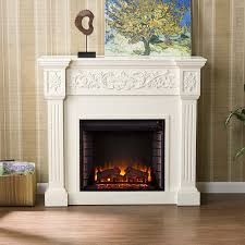 Electric Fireplace With Safety Thermal Protector