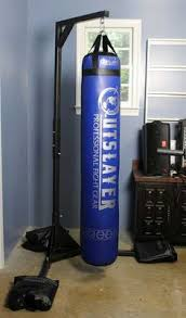 Punching Bag Ceiling Mount Walmart by How To Use A Tear Drop Punching Bag Muay Thai Diy Gym
