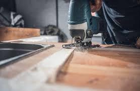 arbeitsplatte zuschneiden schritt für schritt toom baumarkt