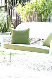 Patio Swings With Canopy Home Depot by Home Trends North Hills Swing Replacement Cushion Cushions Patio