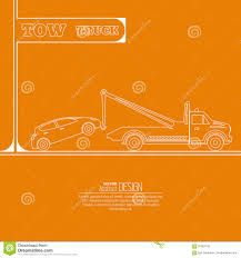 100 Used Tow Trucks Truck Concept Stock Vector Illustration Of Maintenance