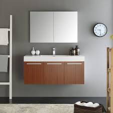 Shop Fresca Vista Teak 48-inch Wall Hung Modern Bathroom Vanity With ... Modern Mini Simple Designs Bathroom Cabinet Vanity For Sale Buy Aquamoon Livenza White Double 59 34 Modern Bathroom Vanity Set 40 Vanities That Overflow With Style 20 White With Undermount Resin Sink Contemporary Vanities Cabinets Top 68 Bangup Contemporary Why And How You Take Tinney Mirror Reviews 15 Your Home Small Hgtv Cabinets Airpodstrapco Walnut Omega Cabinetry Clearancemor 36 High Gloss Wall Mounted