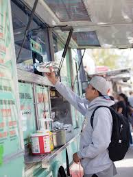 100 Dogtown Food Truck A Student Picks Up His Hot Dog From Dogs Highlander