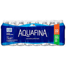 Aquafina Purified Drinking Water 169 Oz 32 Ct