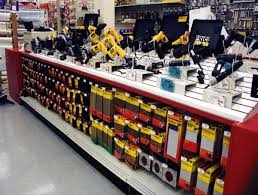 Hardware Store Displays Paint Fixtures
