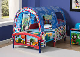 Mickey Mouse Bedroom Curtains by Delta Children Disney Mickey Mouse Toddler Tent Bed U0026 Reviews