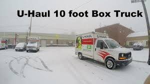 Car Reviews: U Haul 10 Foot Box Truck Rental - YouTube