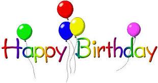 Happy birthday clipart free