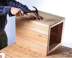 how to diy a planter box how to build a wooden garden planter easily