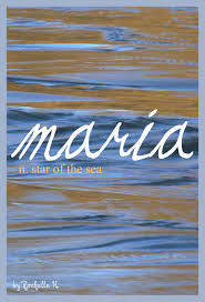 Meaning Star Of The Sea Origin Latin