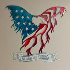 Decorative Sheet Metal Banding by Freedom In Flight Metal Wall Art Sheet Metal Gauges And Metals
